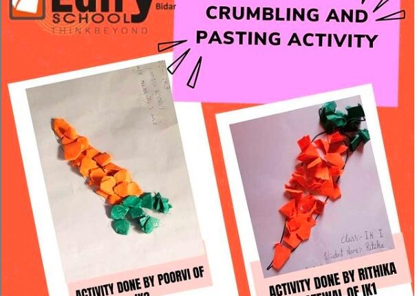 Crumbling-and-pasting-activity
